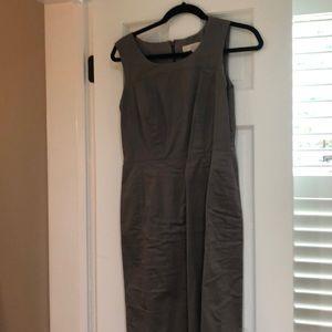 Eggplant colored tank dress